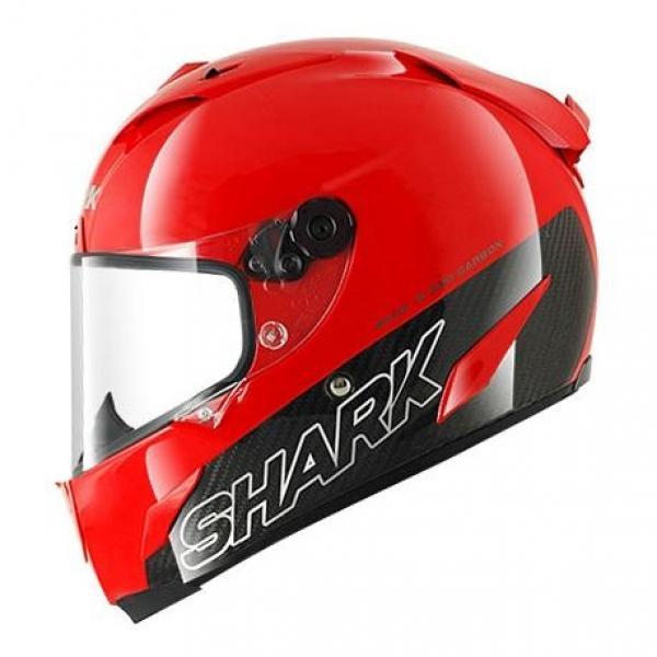 Casque Shark RACE-R PRO CARBON BLANK - Rouge