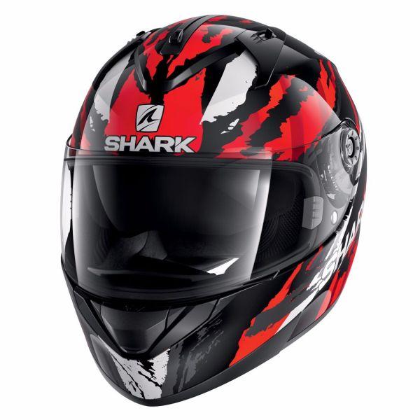 Casque Shark RIDILL OXYD - Noir / Rouge / Gris