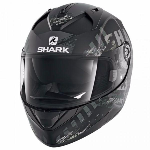 Casque Shark RIDILL SKYD MAT - Noir / Gris