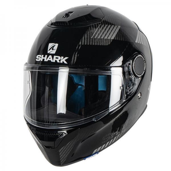 Casque Shark SPARTAN CARBON STRAD MAT - Noir