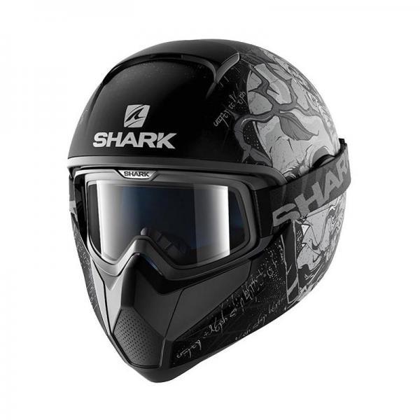 Casque Shark VANCORE ASHTAN MAT - Noir / Gris