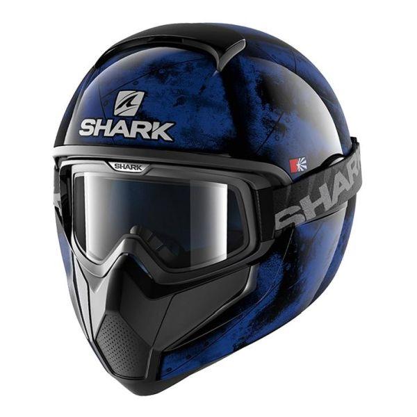 Casque Shark VANCORE FLARE - Noir / Bleu