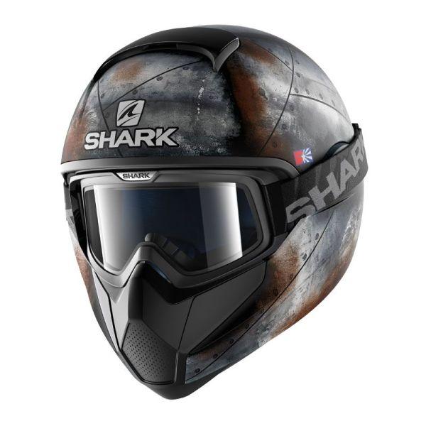 Casque Shark VANCORE FLARE - Noir / Gris / Orange
