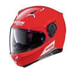 Casque Nolan N87 EMBLEMA N-COM - Corsa Red